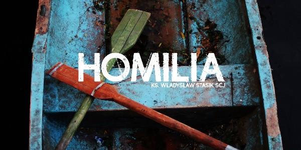 Dwa dotknięcia uzdrawiające - Homilia